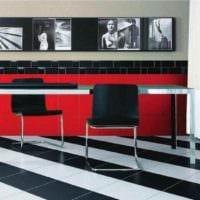 вариант красивого стиля укладки плитки в ванной комнате фото