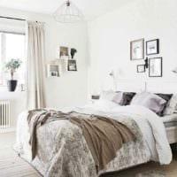 идея светлого стиля квартиры в скандинавском стиле фото