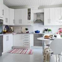 идея красивого интерьера квартиры в скандинавском стиле картинка