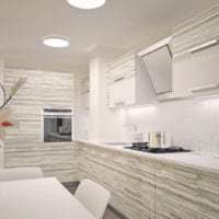 кухня с вентиляционным коробом идеи