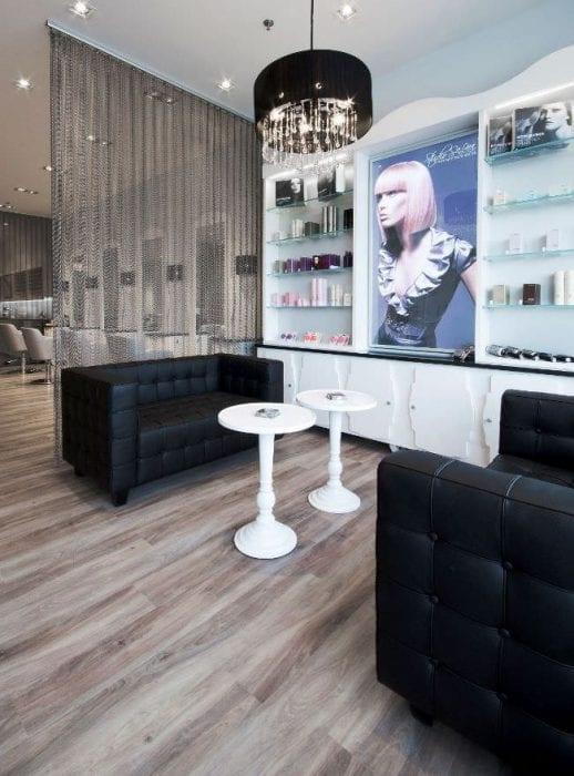 Дизайн парикмахерской модерн