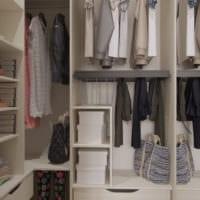 гардероб в однокомнатной квартире