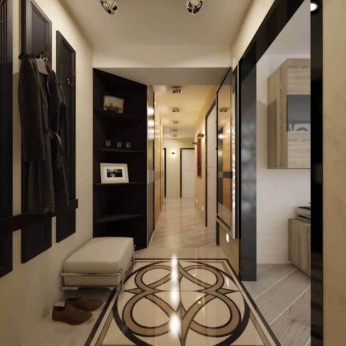 пол в маленьком коридоре