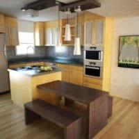 интерьер маленькой кухни идеи планировки