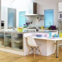 интерьер маленькой кухни стильный