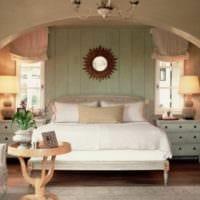 классический дизайн маленькой спальни