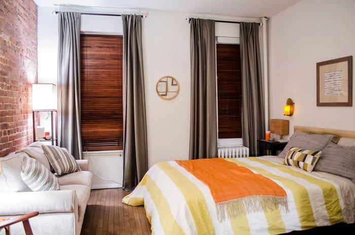 квартира 30 кв м спальня