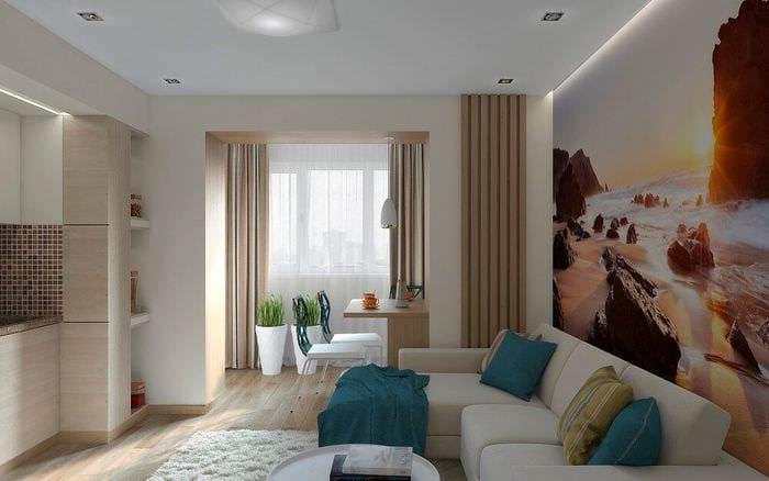 комфортный дизайн квартиры
