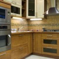 подсветка и дизайн кухни 6 кв м