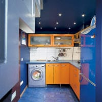 продуманный дизайн кухни 6 кв м