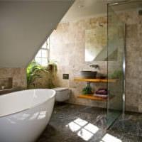 плитка из камня для ванной