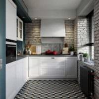 дизайн кухни 6 кв м лофт