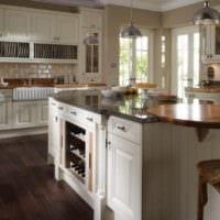 дизайн кухни в классическом стиле идеи