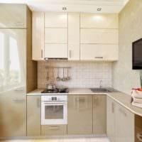 дизайн кухонного гарнитура фото идеи