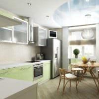 дизайн кухонного гарнитура кухня 10-12 кв м