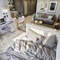 дизайн квартиры 33 м2