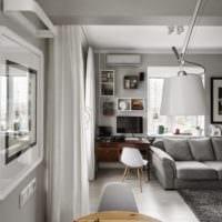 дизайн квартиры 33 м2 проект