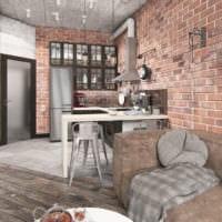 дизайн квартиры 33 м2 проект идеи