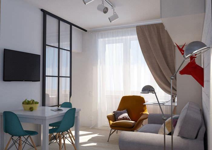 дизайн квартиры 36 кв