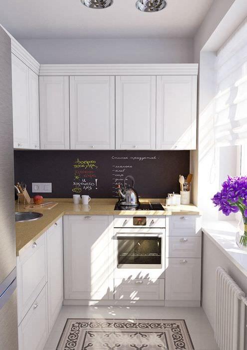дизайн квартиры 36 м2 кухня