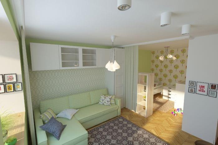 дизайн квартиры с детской зоной