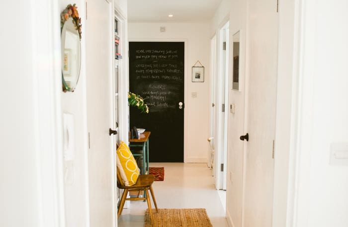 дизайн маленького коридора фото
