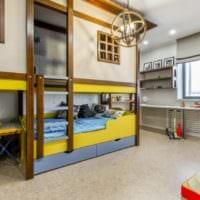 дизайн маленькой детской комнаты интерьер