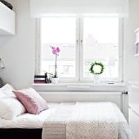 дизайн маленькой детской комнаты шторы