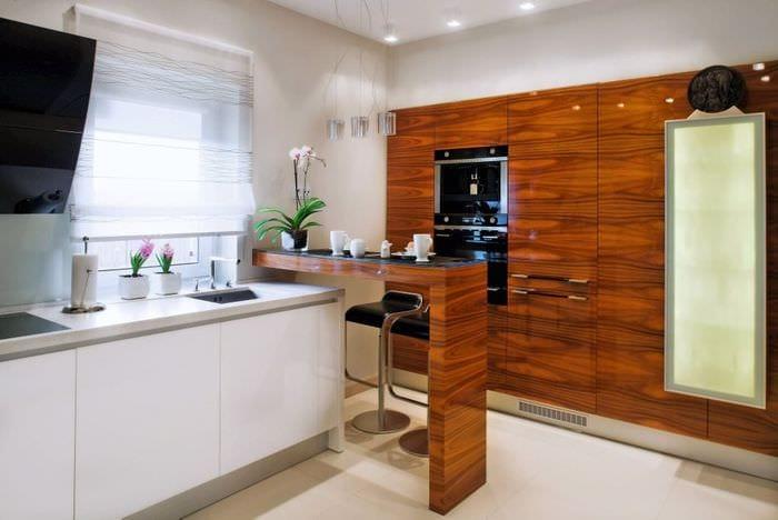 дизайн и декор маленькой кухни