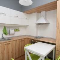 дизайн маленькой кухни фото интерьера