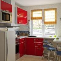 дизайн маленькой кухни идеи