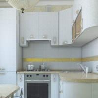 дизайн маленькой кухни идеи фото