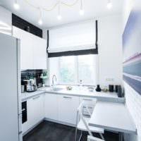 дизайн маленькой кухни интерьер фото