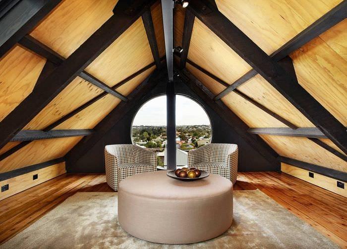 фото идеи отделки мансардного этажа вам окунуться