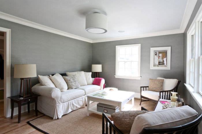 Дизайн квартиры под покраску фото