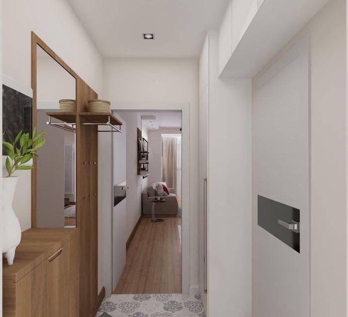 хороших коридор в однокомнатной квартире дизайн фото работает уже готовой
