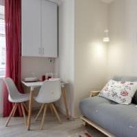 дизайн однокомнатной квартиры 36 м