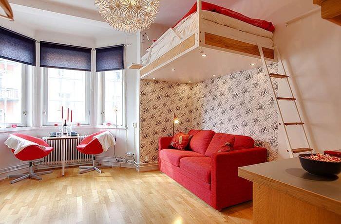 однокомнатная квартира для семьи