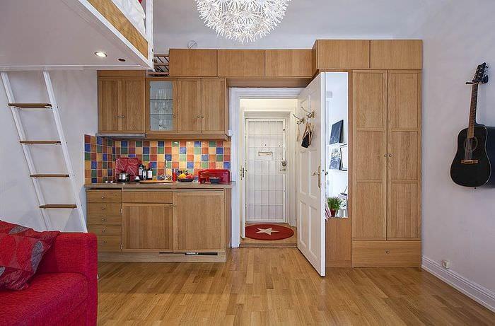 вариант для однокомнатной квартиры