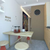 дизайн однокомнатной квартиры 45 кв м идеи