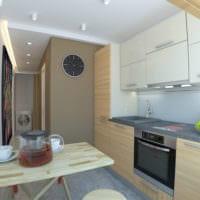 дизайн однокомнатной квартиры 45 кв м идеи фото