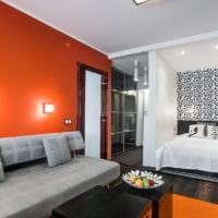 дизайн однокомнатной квартиры 45 кв м интерьер
