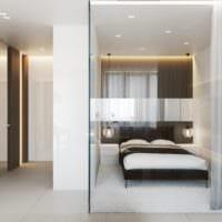дизайн однокомнатной квартиры 45 кв м со спальней