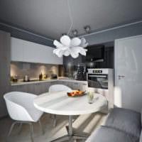 дизайн однокомнатной квартиры 45 кв м фото