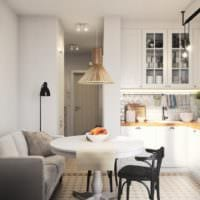 дизайн однокомнатной квартиры площадью 36 кв метров