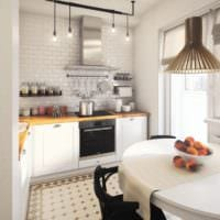 дизайн однокомнатной квартиры площадью 36 м2