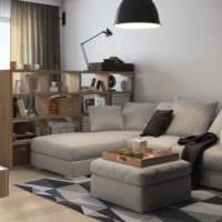 дизайн однокомнатной квартиры площадью 36 м