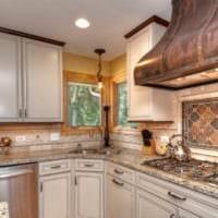 дизайн плитки на кухне идеи фото
