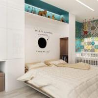 дизайн однокомнатной квартиры для семьи 36 кв м