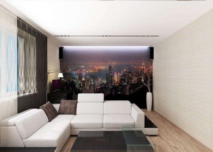 минимализм в квартире 30 кв м